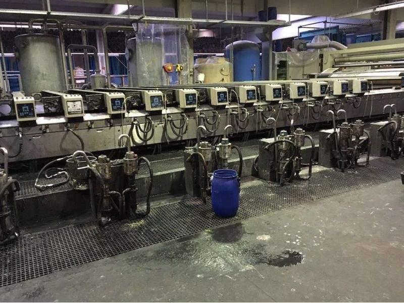Rotative screen machine Reggiani Reggiani Macchine - 1