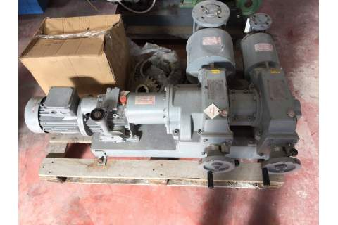 Dosing pumps Gallaratesi for Dye Padder