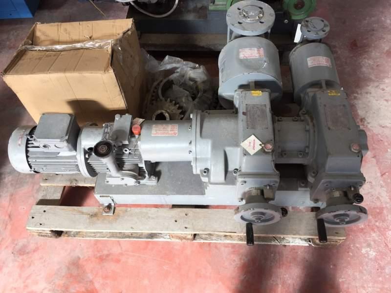 Dosing pumps Gallaratesi for Dye Padder