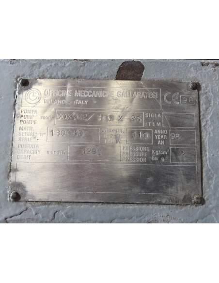 Pompe di dosaggio Gallaratesi per Foulard di Tintura