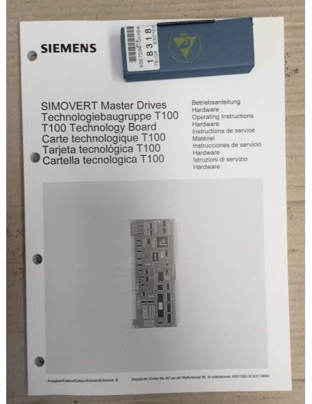 Simovert master drives  T100 board