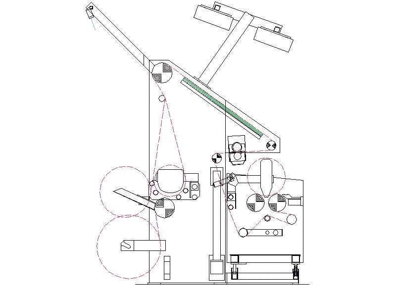 Rolling Inspection Machine Tecnoteam Used Inspection Machine La