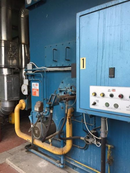 Oil boiler Bono for sale, used oil Boiler, boiler with ...