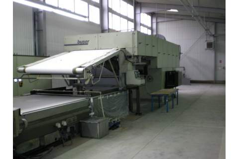 Flat bed printing machine Buser