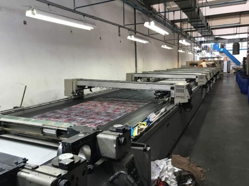 Flat bed printing machine REGGIANI Avant