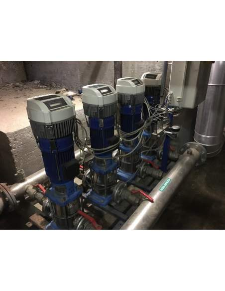 Lowara GHV40 4 pumps Booster unit