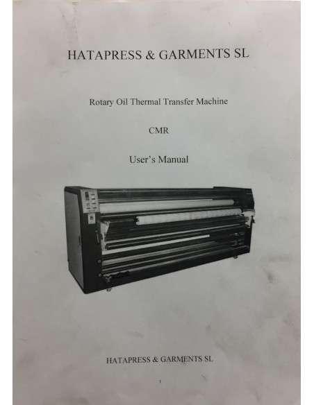 Transfer printing calender Hatapress diameter 600 mm
