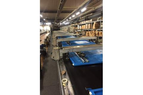 Flat bed printing machine REGGIANI