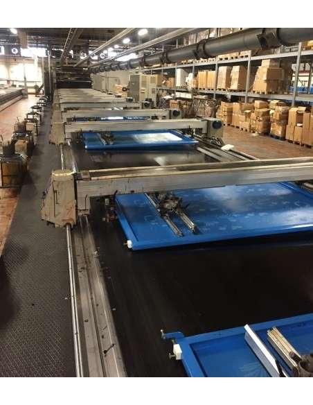 Flat bed printing machine REGGIANI